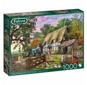 Falcon Farmers Cottage 1000 Piece Jigsaw Puzzle