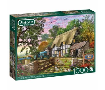 Falcon Farmers Cottage 1000 Piece Jigsaw Puzzle