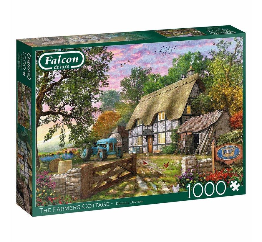 Farmers Cottage 1000 Piece Jigsaw Puzzle