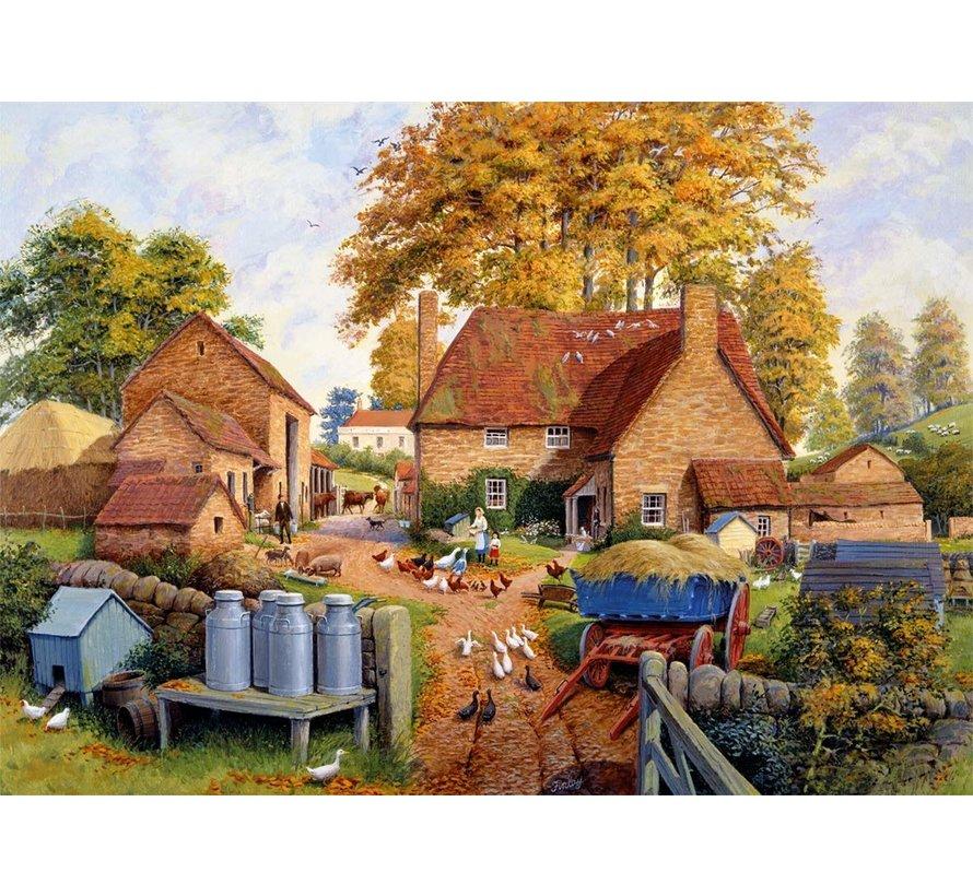 Autumn on The Farm 1000 Piece Jigsaw Puzzle