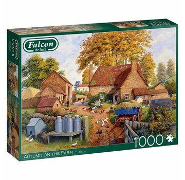 Falcon Autumn on The Farm Puzzel 1000 Stukjes