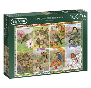 Falcon Seasonal Garden Birds Puzzel 1000 Stukjes