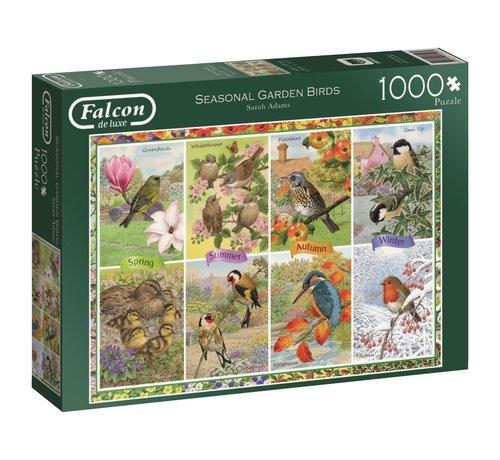 Falcon Seasonal Garden Birds 1000 Piece Jigsaw Puzzle