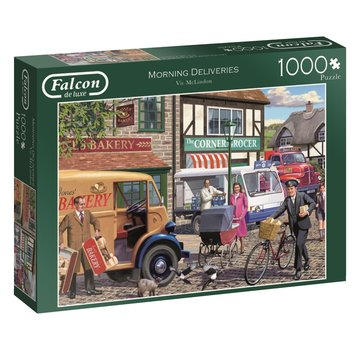 Falcon Morning Deliveries 1000 Piece Jigsaw Puzzle