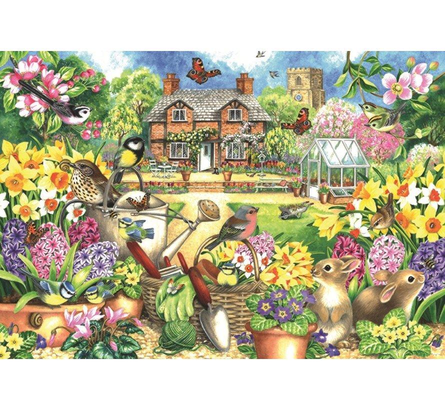 Spring Garden 1000 Piece Jigsaw Puzzle