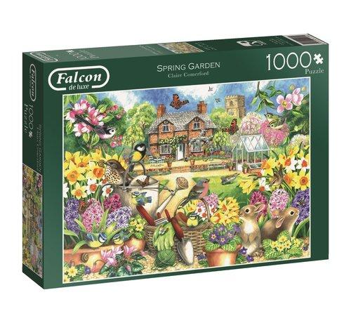 Falcon Spring Garden 1000 Piece Jigsaw Puzzle