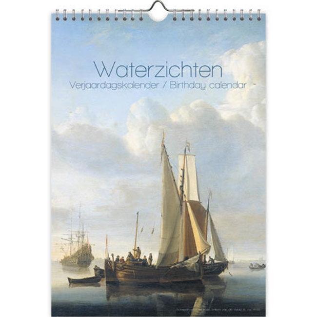 Blick auf das Wasser Geburtstagskalender A4
