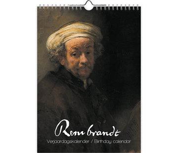 Comello Rembrandt Birthday Calendar A4