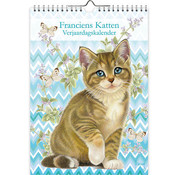 Comello Franciens Katten Verjaardagskalender A4