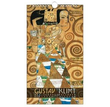 Bekking & Blitz Gustav Klimt Birthday calendar
