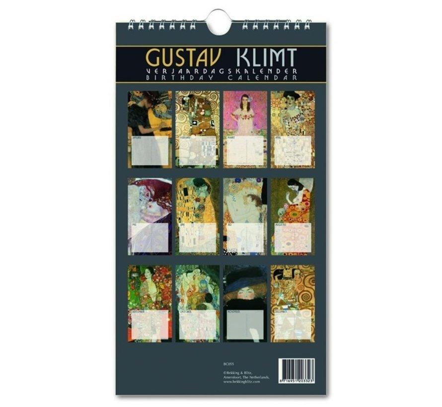 Gustav Klimt Verjaardagskalender