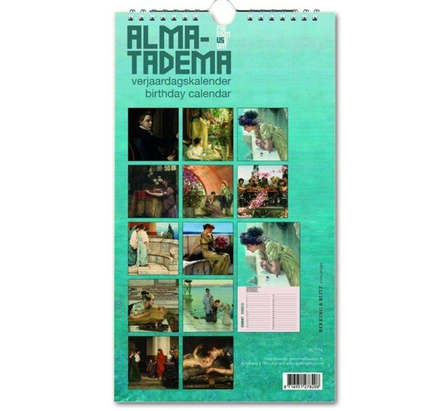 Alma-Tadema Birthday Calendar