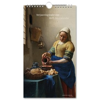 Bekking & Blitz Rijksmuseum Masterpieces Birthday Calendar