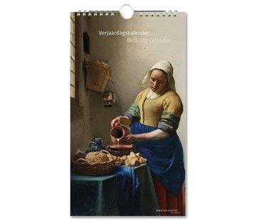 Bekking & Blitz Chefs-d'œuvre Rijksmuseum anniversaire Calendrier