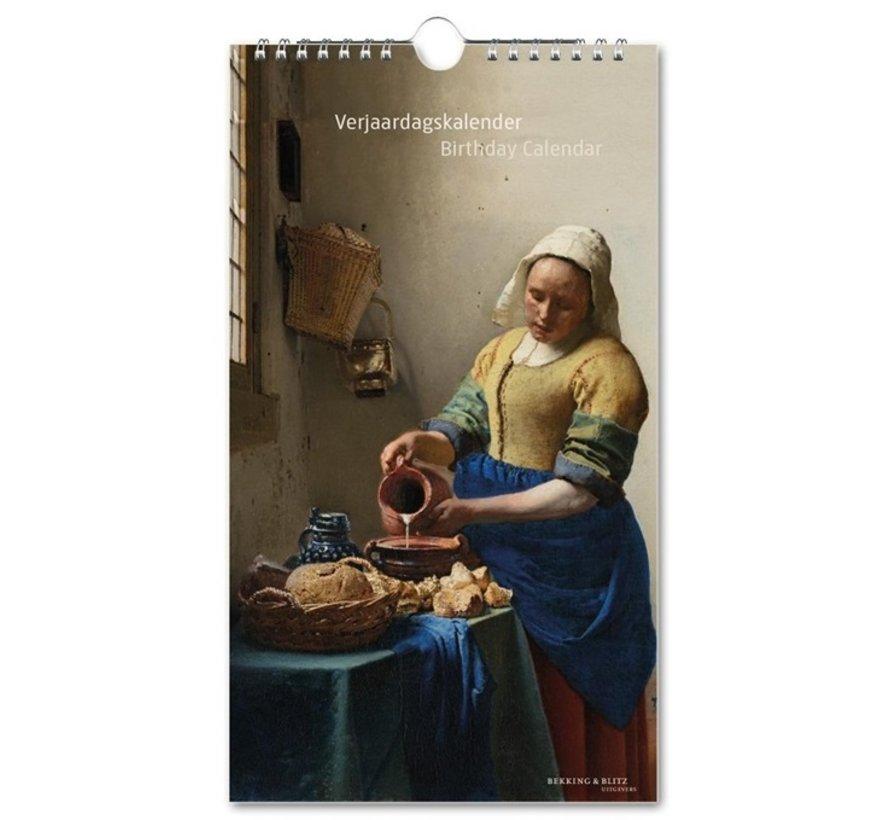 Rijkmuseum Masterpieces Birthday Calendar