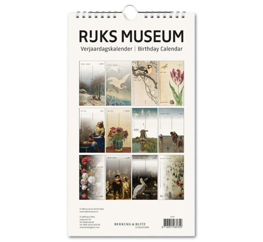 Rijksmuseum Masterpieces Verjaardagskalender