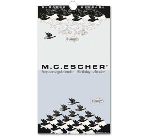 Bekking & Blitz M.C. Escher Birthday Calendar