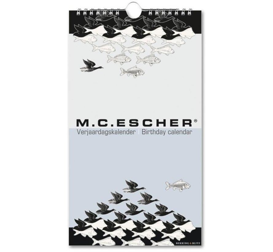 M.C. Escher Birthday Calendar