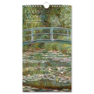 Bekking & Blitz Claude Monet Water Lilies Birthday Calendar
