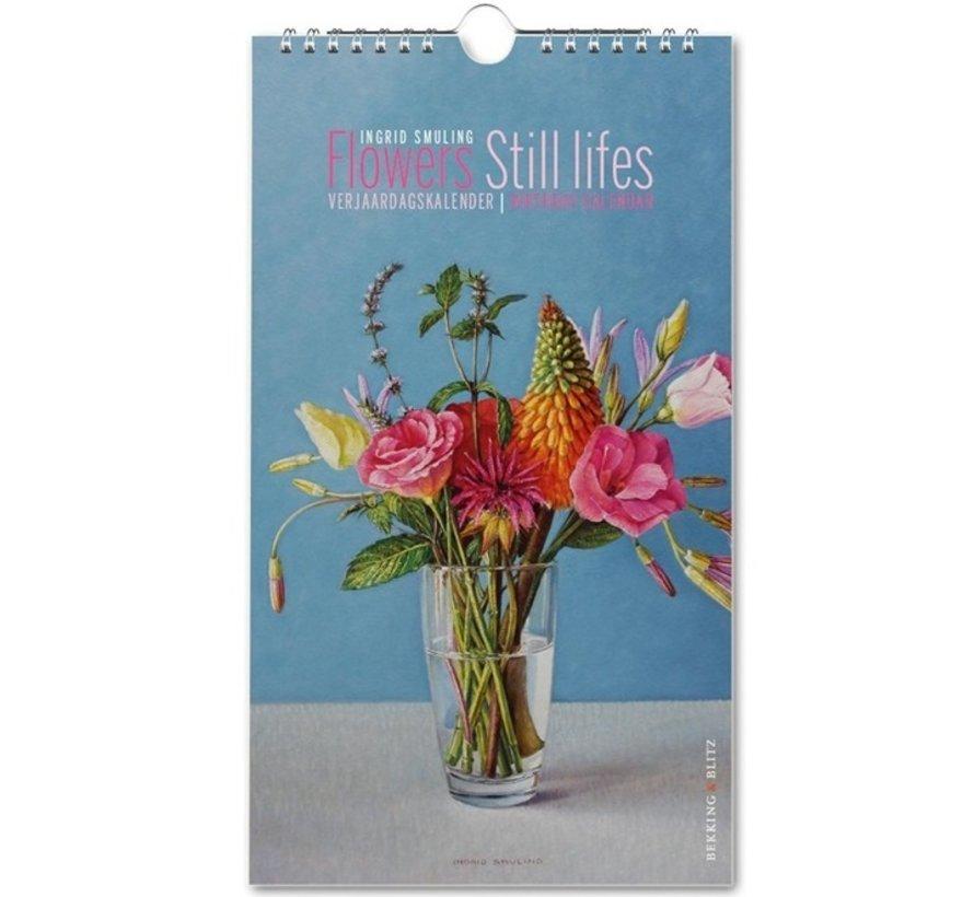 Flowers Still Lifes Birthday Calendar