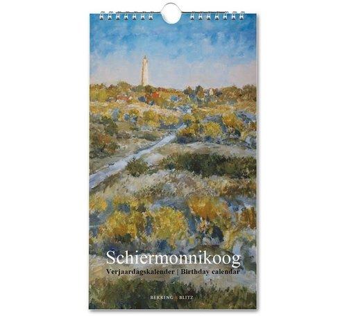 Bekking & Blitz Schiermonnikoog Birthday Calendar