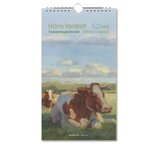 Bekking & Blitz Cows Birthday Calendar