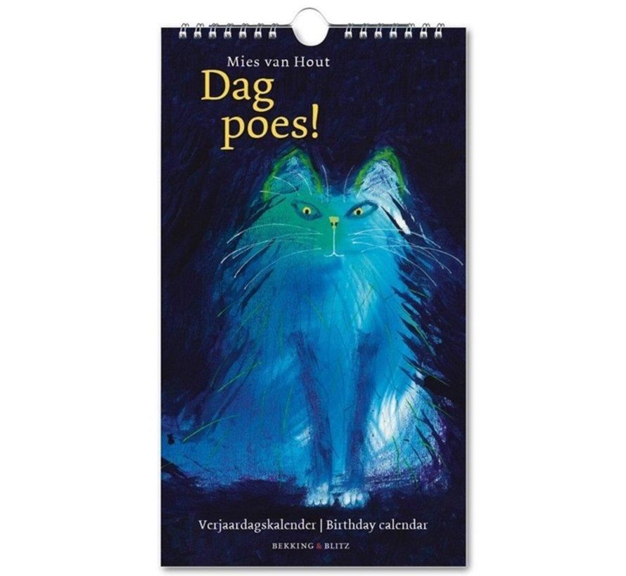 Dag Poes! Verjaardagskalender