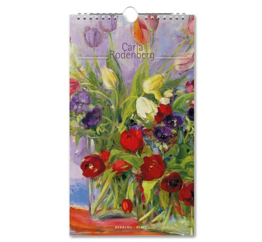 Carla Rodenberg Birthday Calendar