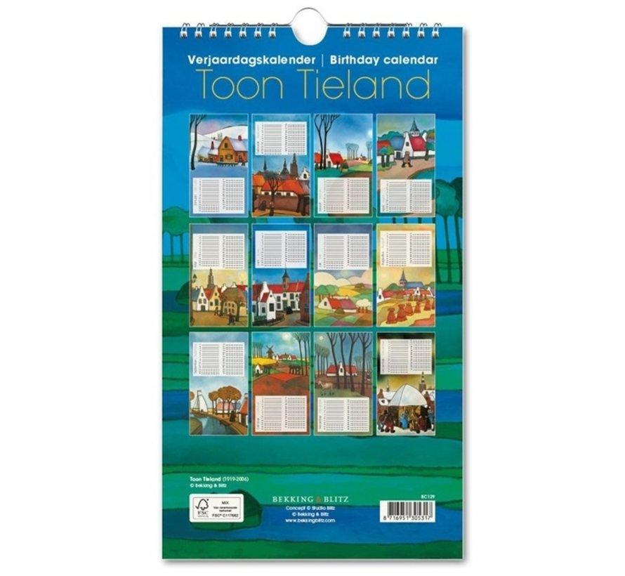 Show Tieland Birthday Calendar