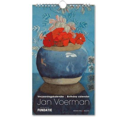 Bekking & Blitz Jan Voerman Birthday Calendar