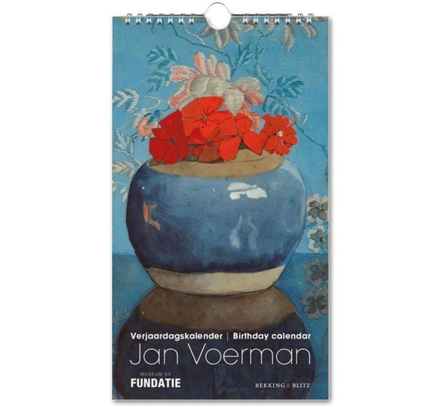 Jan Voerman Birthday Calendar