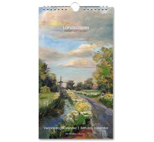 Bekking & Blitz Landscapes Verjaardagskalender