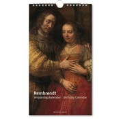 Bekking & Blitz Rembrandt, Rijksmuseum Amsterdam Birthday Calendar