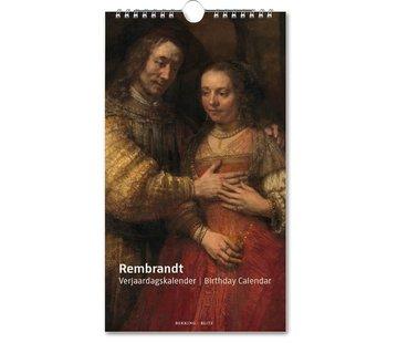 Bekking & Blitz Rembrandt, Rijksmuseum Amsterdam Verjaardagskalender