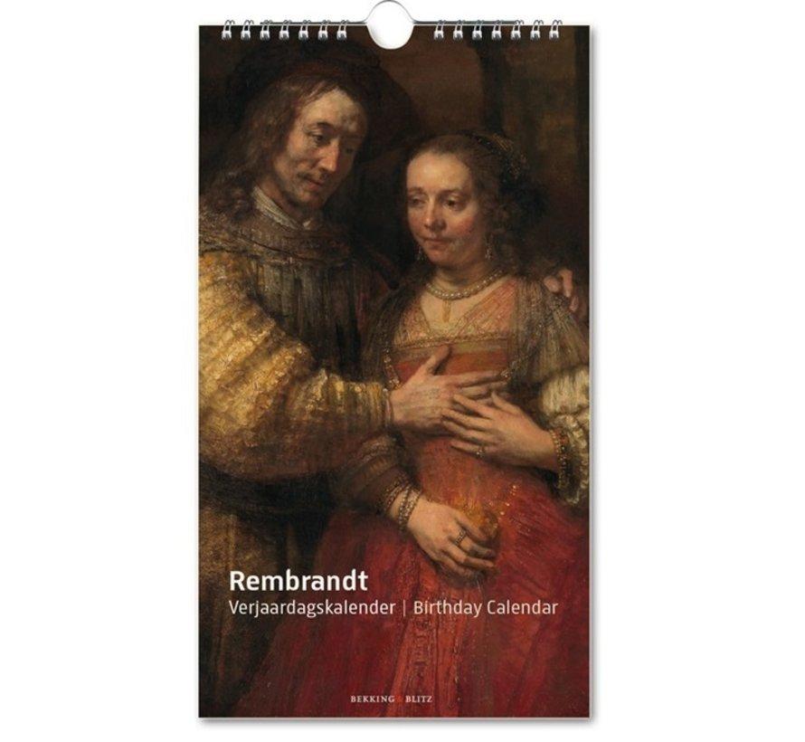 Rembrandt, Rijksmuseum Amsterdam Verjaardagskalender