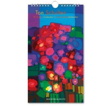 Bekking & Blitz Ton Schulten Bloemen Birthday Calendar
