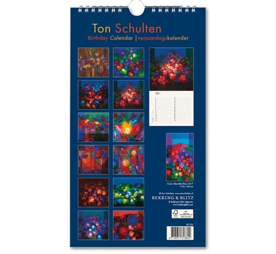Ton Schulten Flowers Birthday Calendar