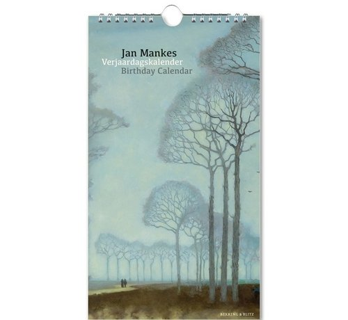 Bekking & Blitz Jan Mankes Verjaardagskalender