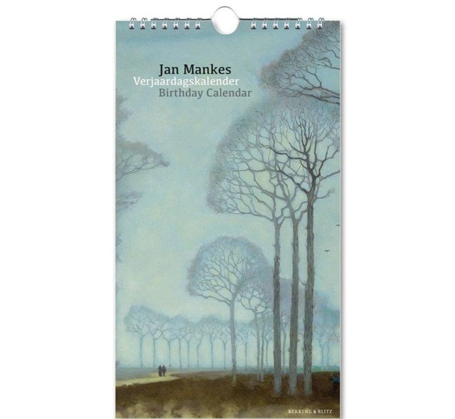 Jan Mankes Verjaardagskalender