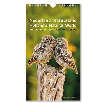 Bekking & Blitz Nederland Natuurland Verjaardagskalender