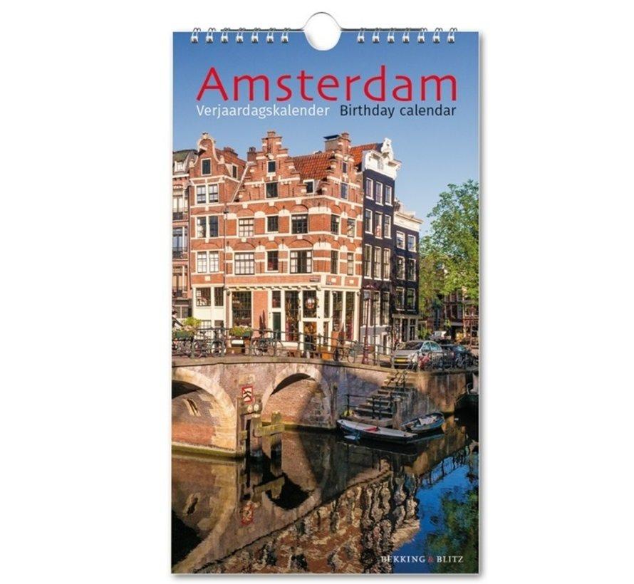 Amsterdam Anniversaire Calendrier