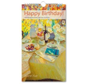 Bekking & Blitz Juane Xue Happy Birthday Verjaardagskalender