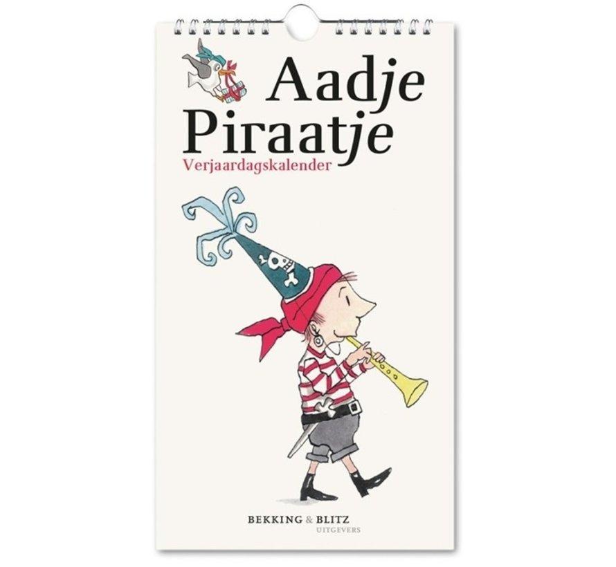 Aadje Piraatje Birthday Calendar