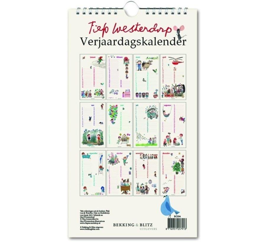 Fiep Westendorp anniversaire Calendrier