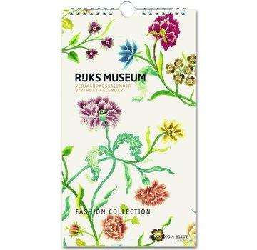 Bekking & Blitz Fashion Collection, Rijksmuseum Birthday Calendar