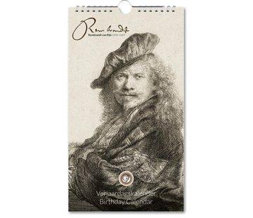 Bekking & Blitz Rembrandt van Rijn Birthday Calendar
