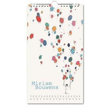 Bekking & Blitz Miriam Bouwens Birthday Calendar