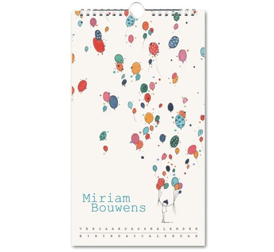 Miriam Bouwens Birthday Calendar Want to buy?
