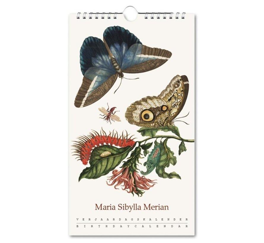 Insects, Maria Sibylla Merian Birthday Calendar