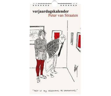 Bekking & Blitz Peter van Straaten Birthday Calendar